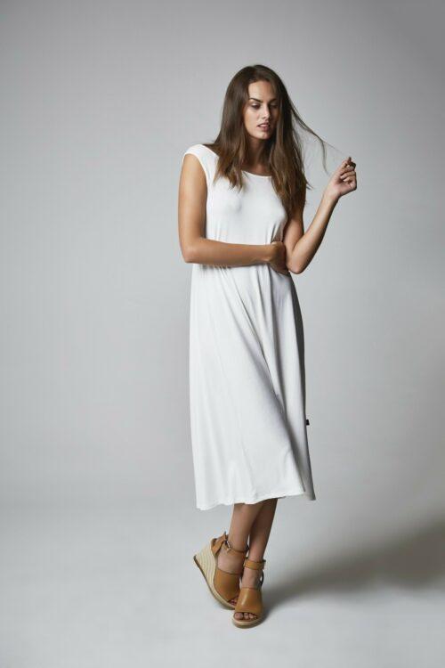 Vestido Diana blanco 1