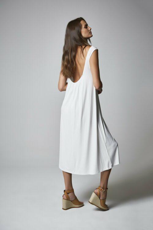 Vestido Diana blanco 2