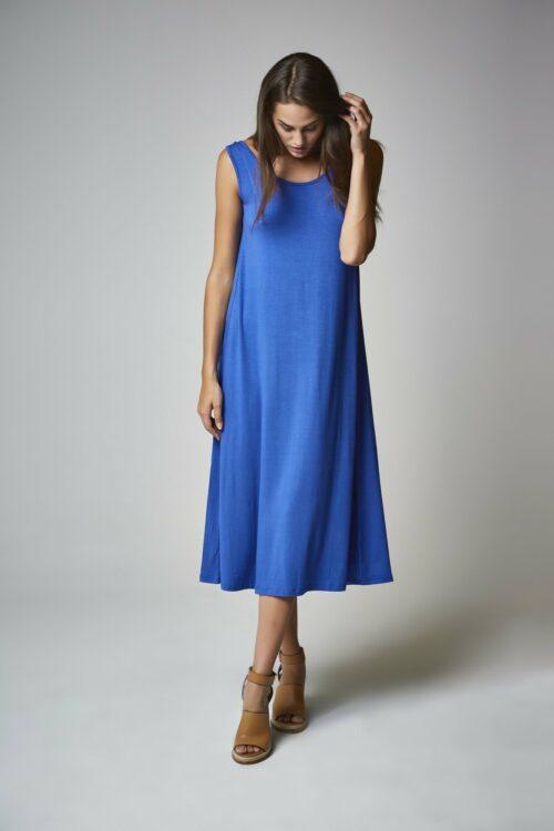 Vestido Diana dazzling blue 1