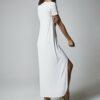 Vestido camisa blanco 3