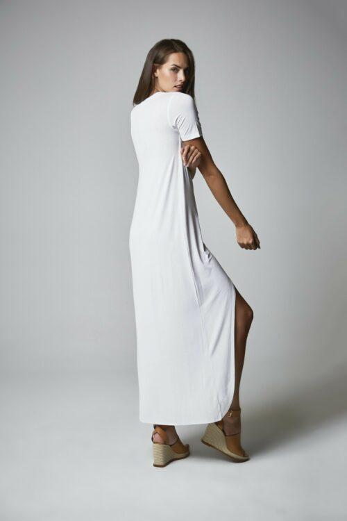 Vestido camisa blanco 2