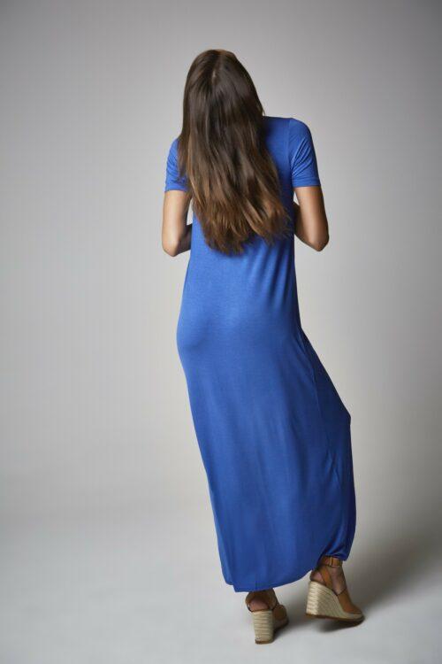 Vestido camisa dazzling blue 2
