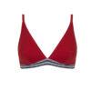 Conjunto rojo íntimo sport triángulo/braga 7