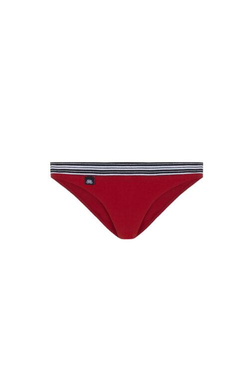 Conjunto rojo íntimo sport triángulo/braga 3